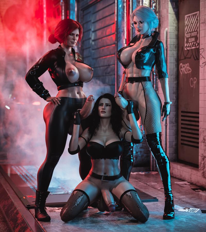 Triss Merigold, Ciri & Yennefer
