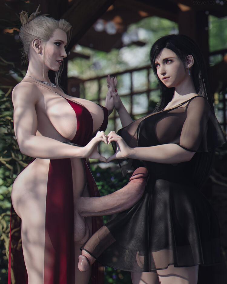 Scarlet & Tifa