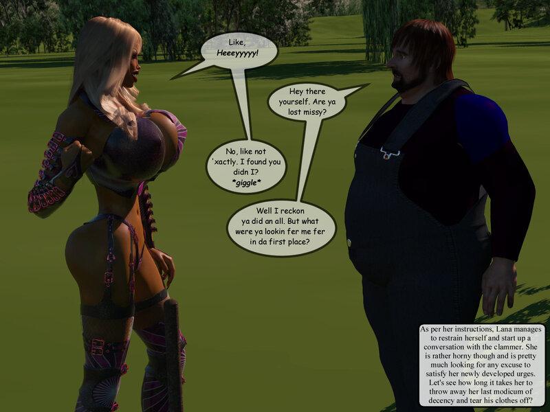 Comic - The Bimbo Next Door: Chapter 9