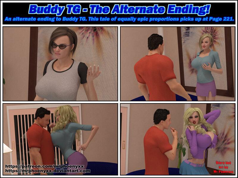 Comic - Buddy TG Alternate Ending
