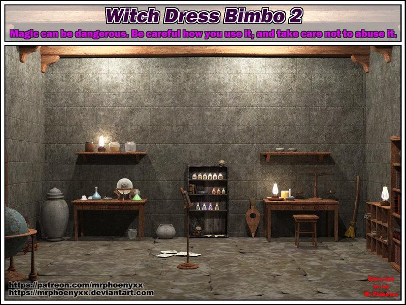 Comic - Witch Dress Bimbo 2