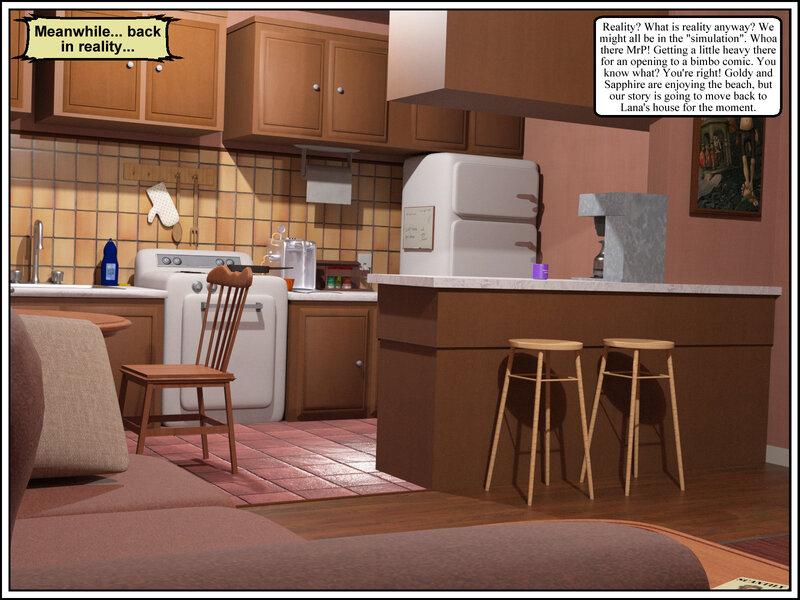 Comic - The Bimbo Next Door 2: Chapter 17