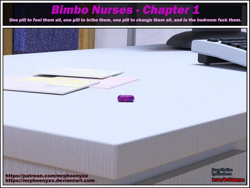 Comic - Bimbo Nurses Chapter 1