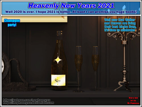 Comic - Heavenly New Year 2021