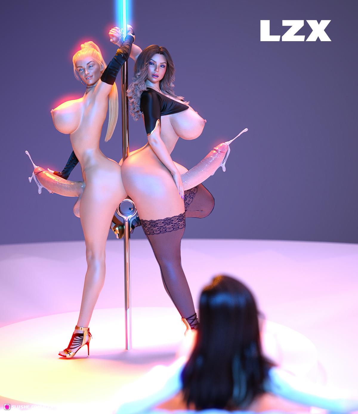 Elizabeth, April & Cassandra - Her pleasure