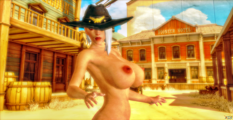 OW Hot Ashe ( Busty )