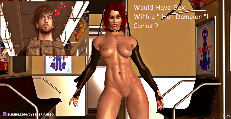 Would You Have Sex With a Hot Dampire Carlos ?