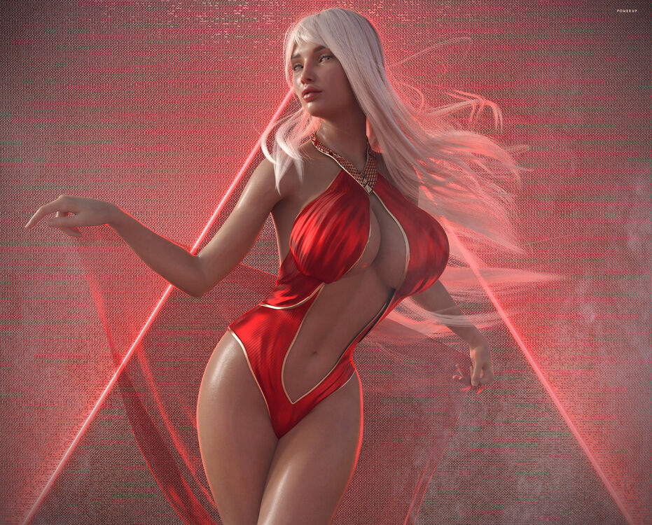 SFW comp/Red Queen