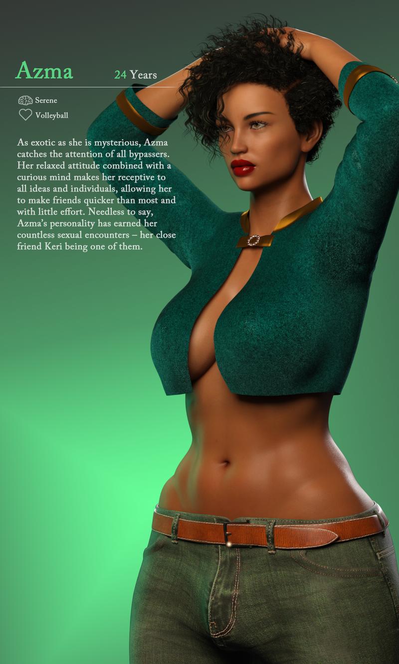 Azma: Character Card