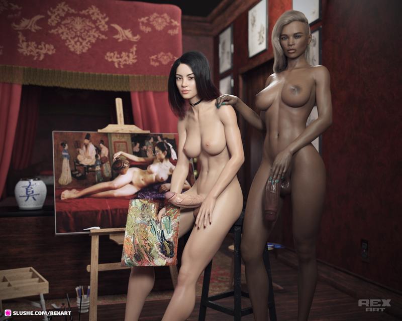 Victoria and Ciara