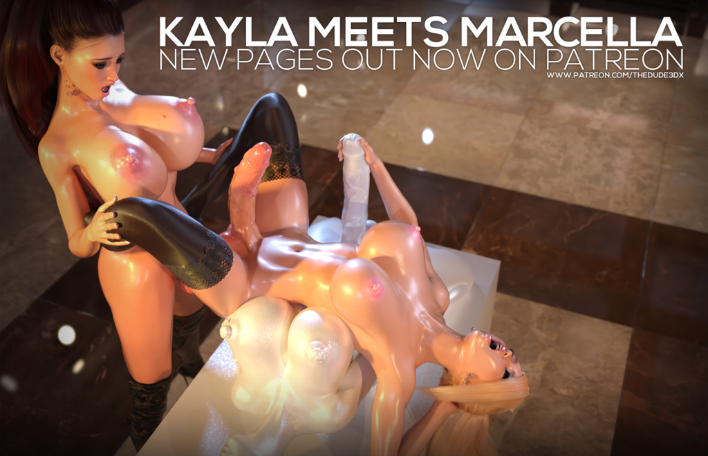 The new Kayla Meets Marcella pages are out!