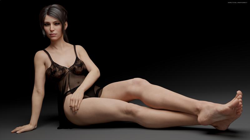 Lara Croft - Leggy