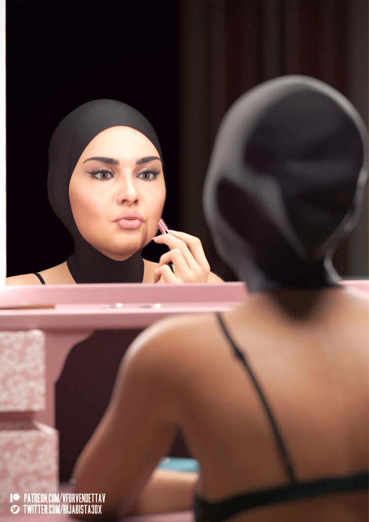 Hijabi Beauty Routine