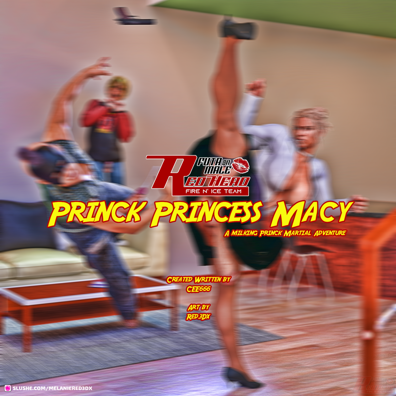 The Princk Princess Macy (New relase Comic)