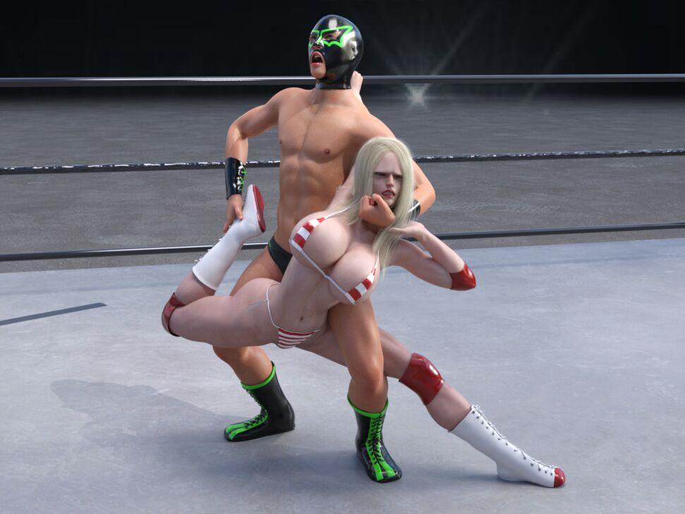 Masked man vs Blonde