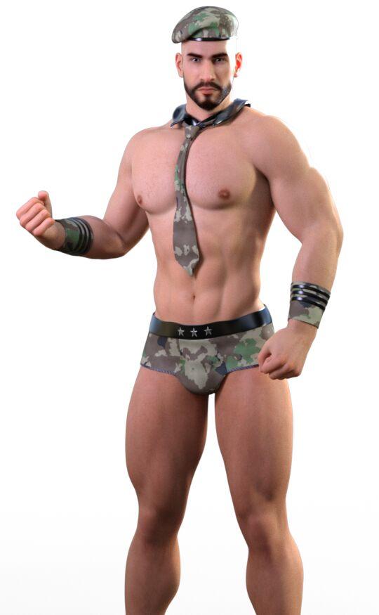 Male Wrestlers