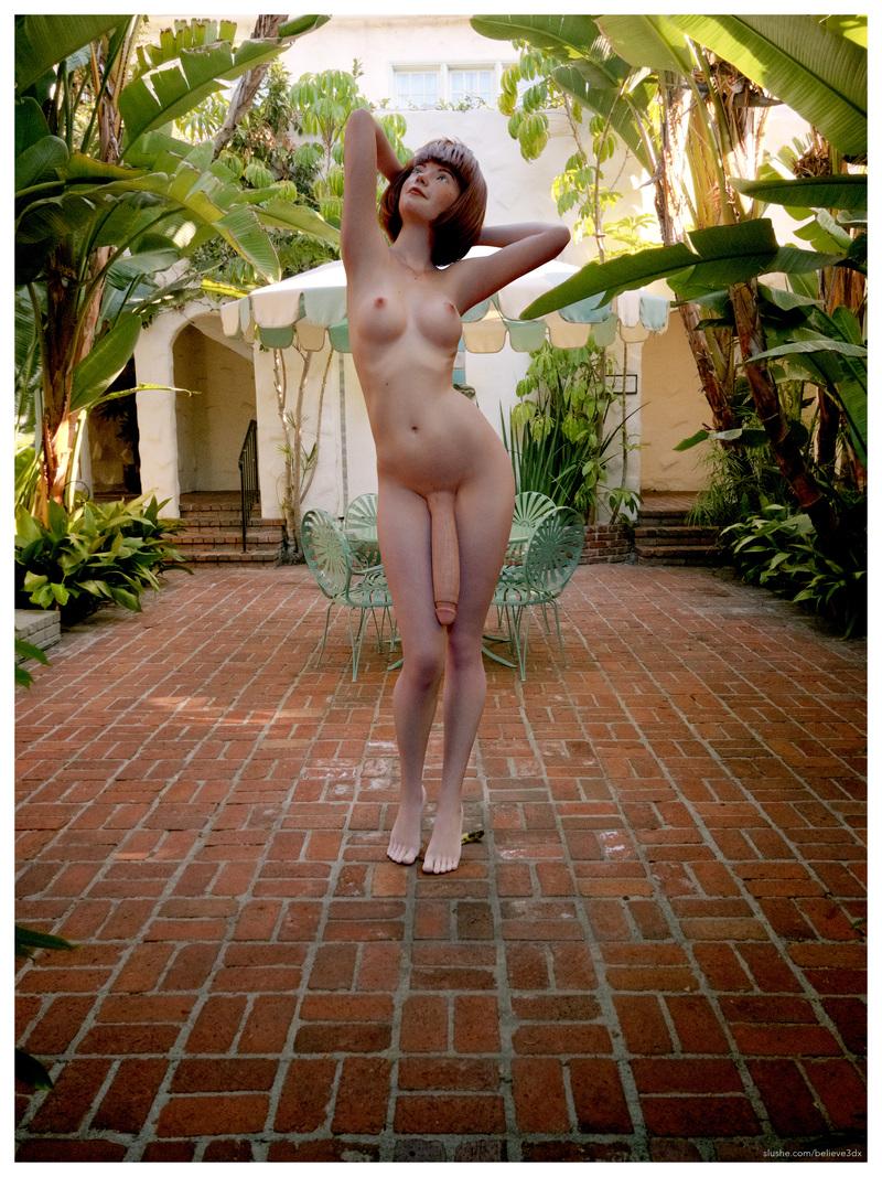 Lucy: Leafy Courtyard #1