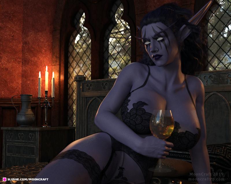 Illy - Night Elf, Trophy Wife