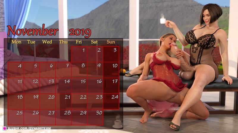 November 2019 Futa Calendar