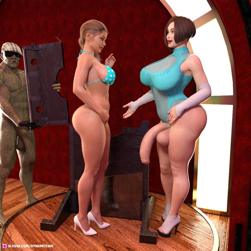 Upper Floor with Maca & Ingrid Part 1