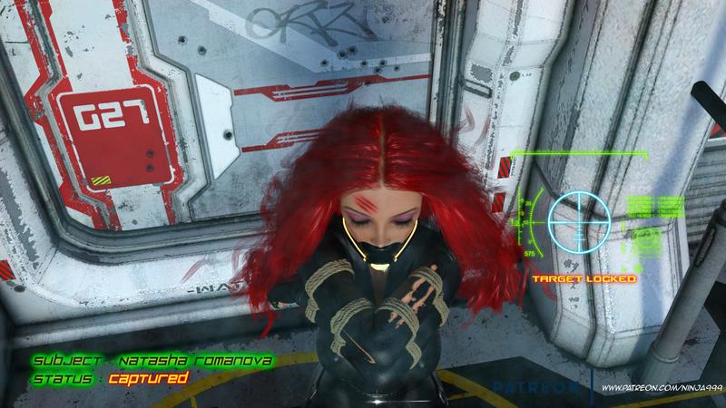Black Widow Captured!