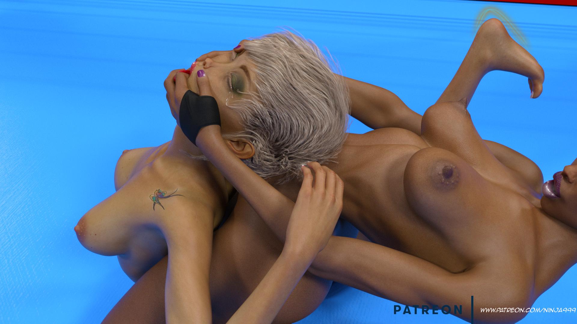 Akame vs Eurybe (Sexfight)