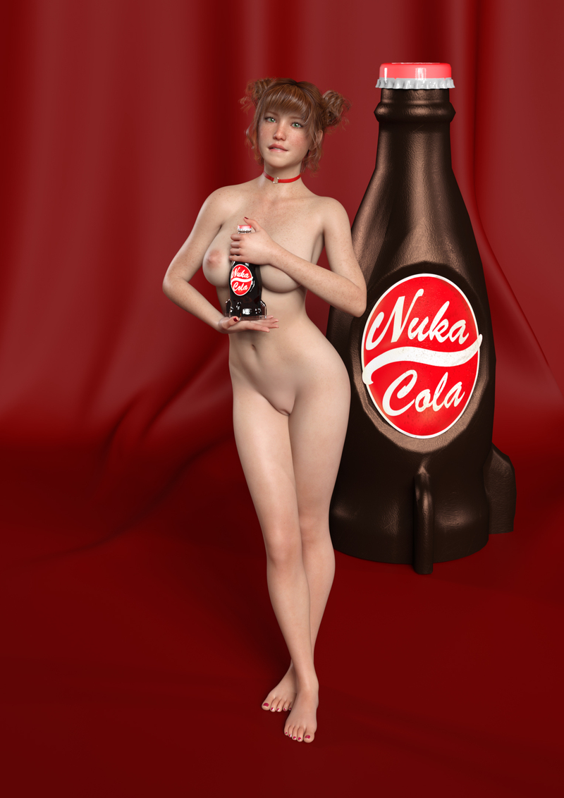 Emmie, a new Nuka Cola Girl