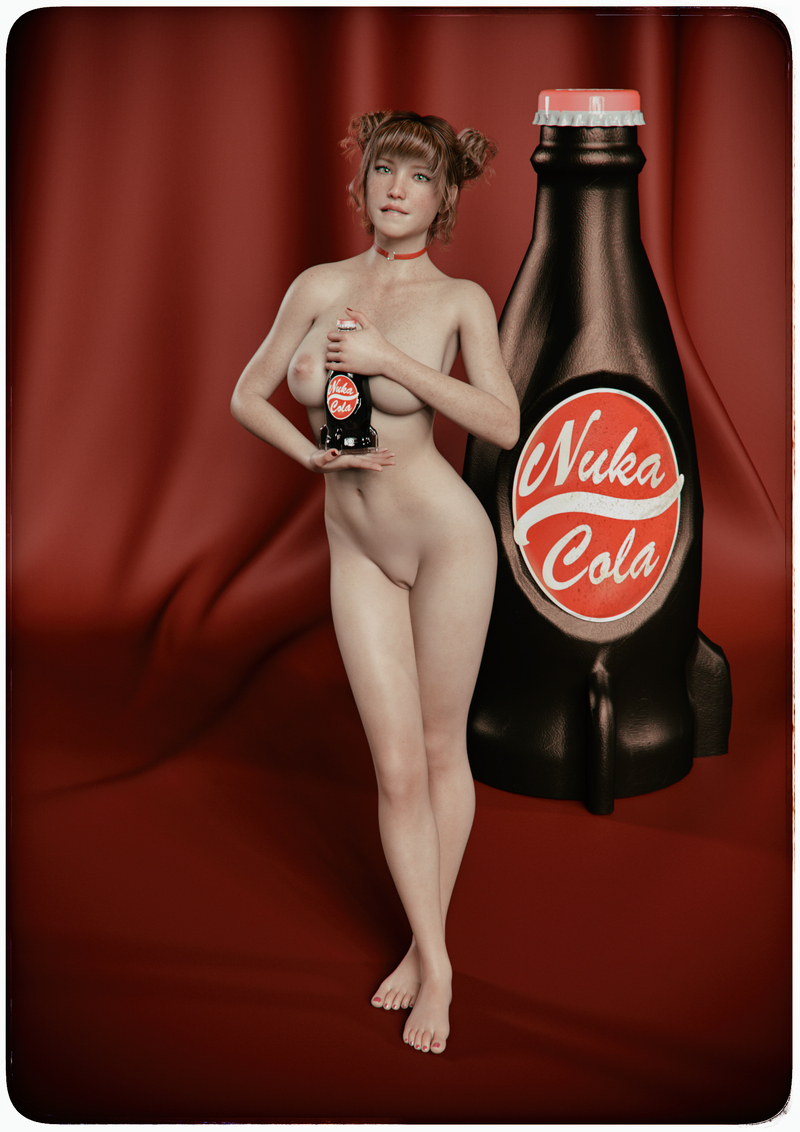Emmie, a new Nuka Cola Girl