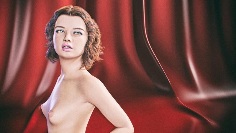 Gwen, Nude Portrait