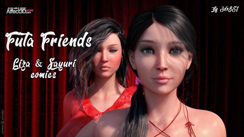 Futa Friends - Sayuri and Liza - Comics