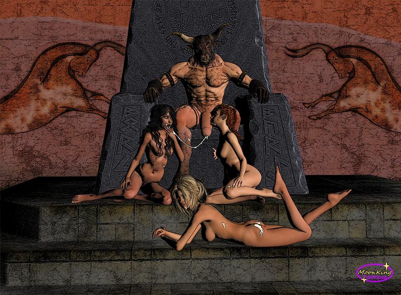Three Maids of Minos