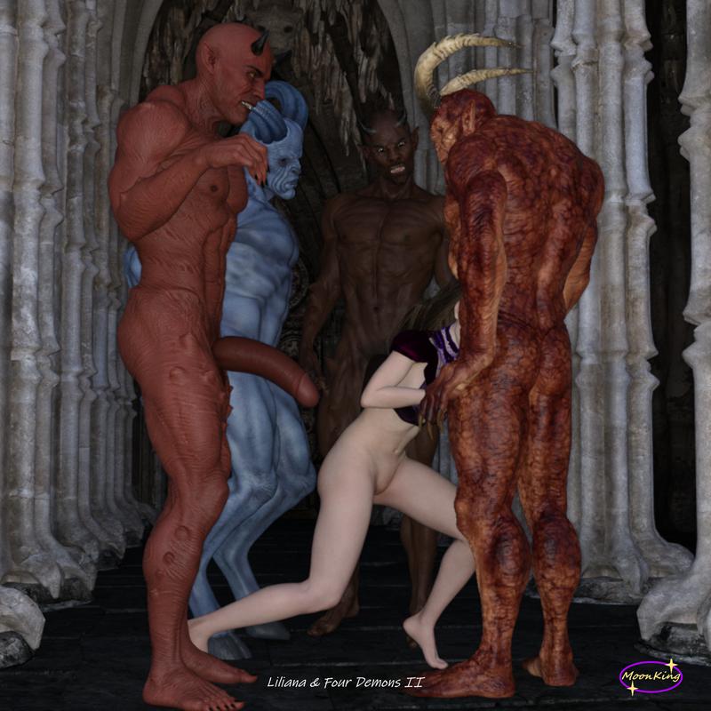 Liliana & Four Demons
