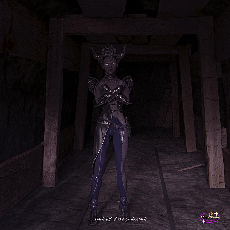 Dark Elf of the Underdark