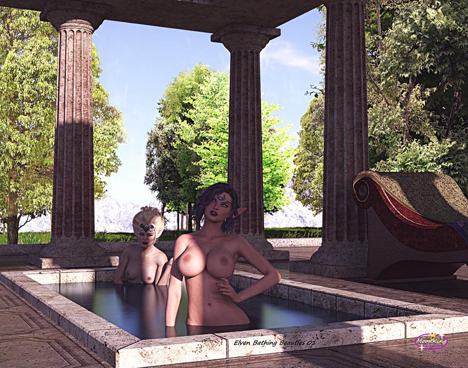 Elven Bathing Beauties 01