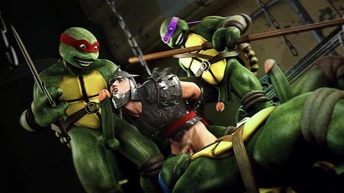 The Shredder in trouble-Ninja turtles parody