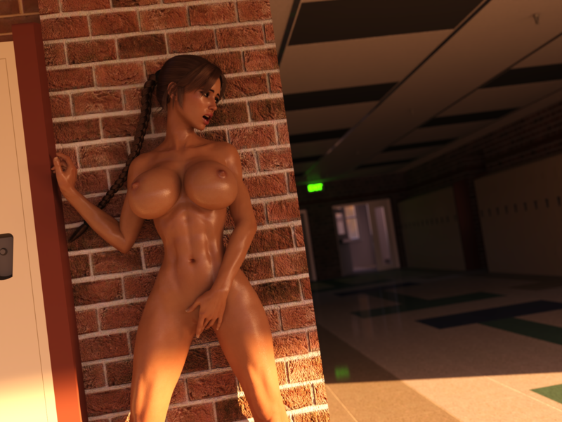 Lara's High School Romp
