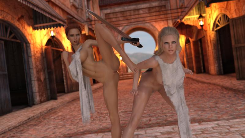 Aeryn and Eris 2