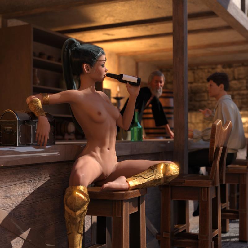 Elf Mercenary 2