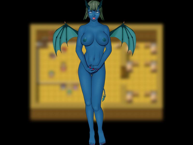 Shirinnys - naked succubus human