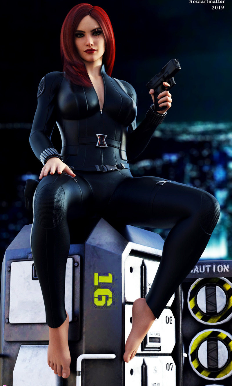 Katarina - Black Widow Cosplay