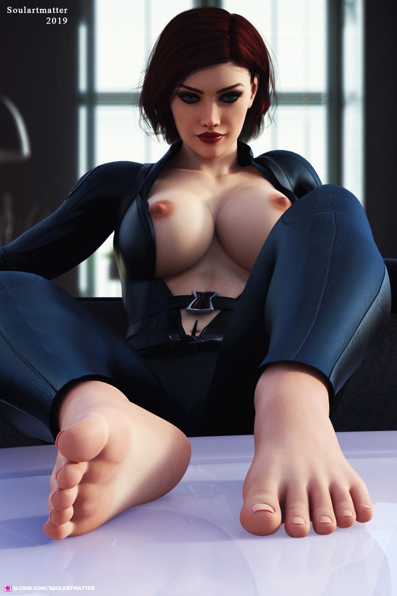 Black Widow Feets