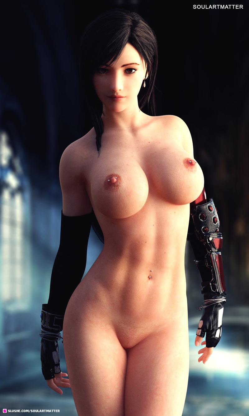 Naked Tifa