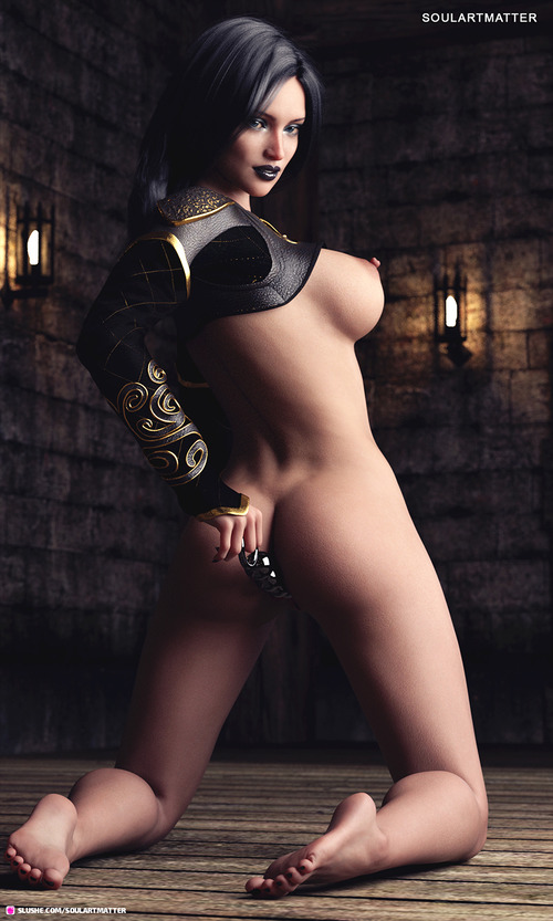 Lustful Sorceress Selina