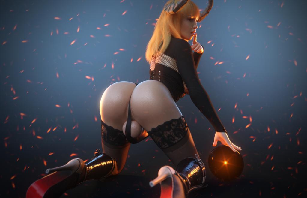 Blonde Bimbo Dickgirl Slut - Patreon Bundle Promo