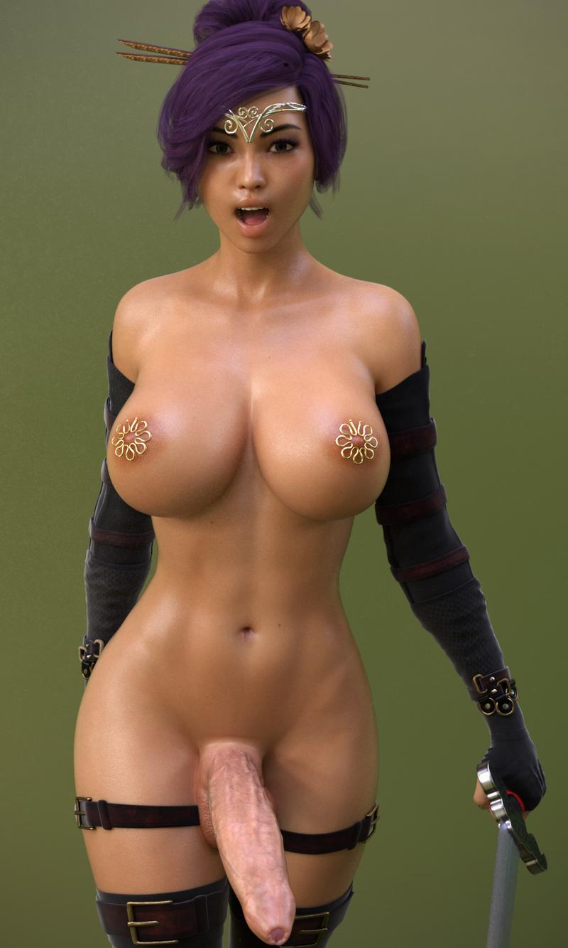 Tami - Dickgirl Swordgirl