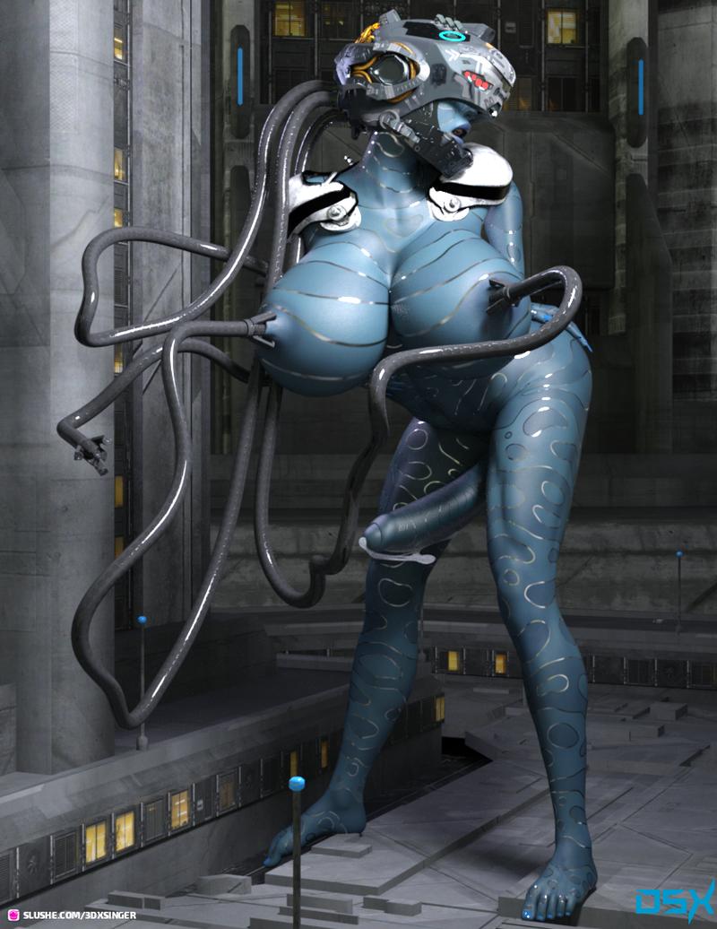 Scifi dick girl