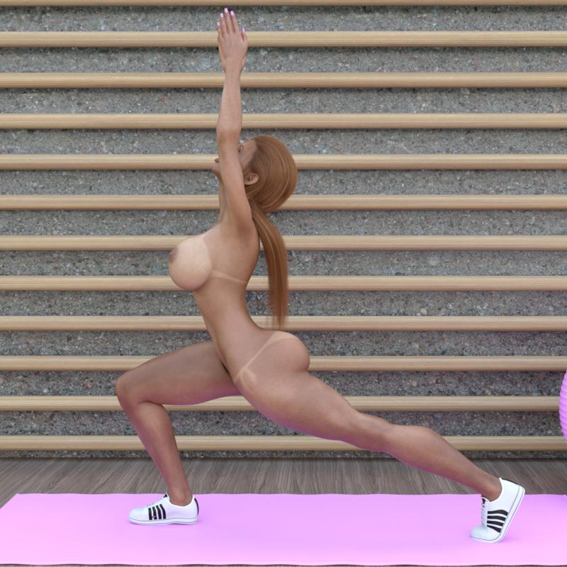 A minute of gymnastics with Elizabeth