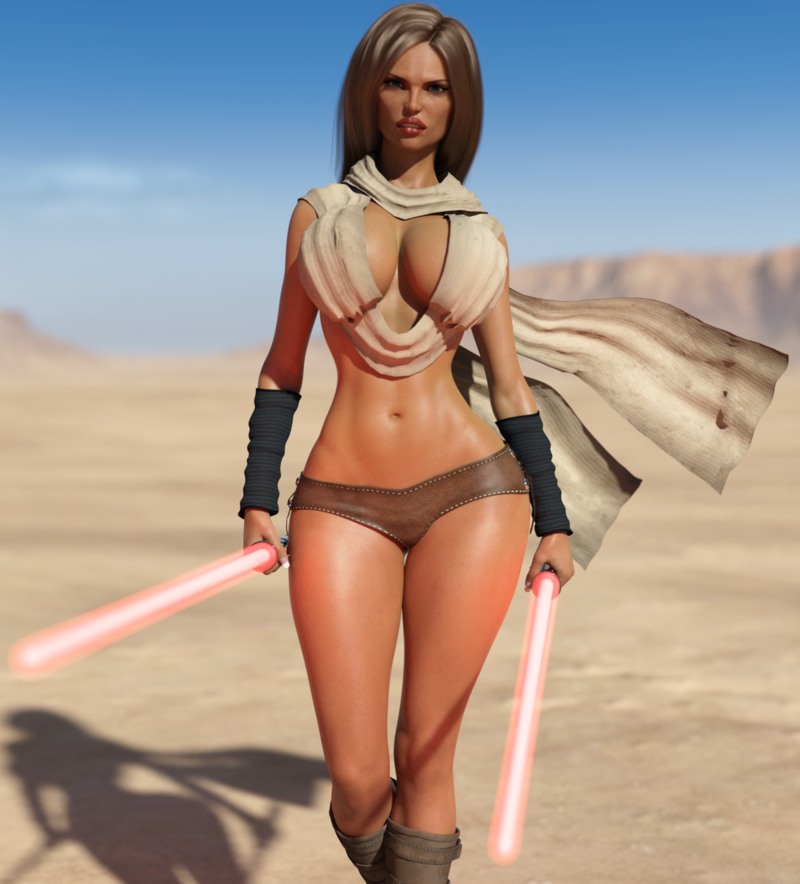 Darth Big-Titty  are out hunting (TEASER)