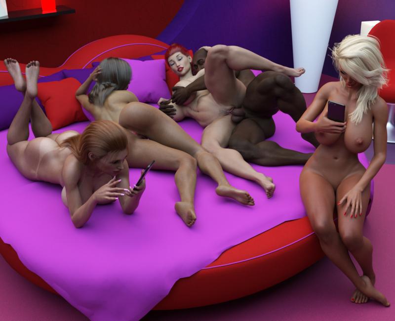 Modern orgy