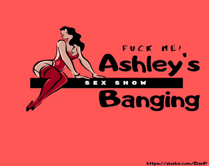 Ashley's presenting her show. You'll see soon enough.